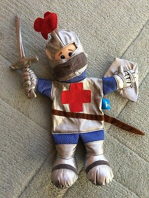 Fiesta Crafts Tell-a-Tale Hand Puppet - St George the Knight