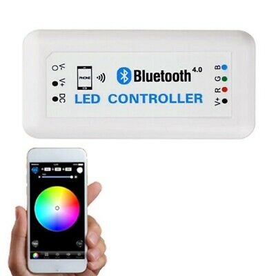 Bluetooth RGB Color Changing Remote Controller By Cell Phone IOS Android For LED