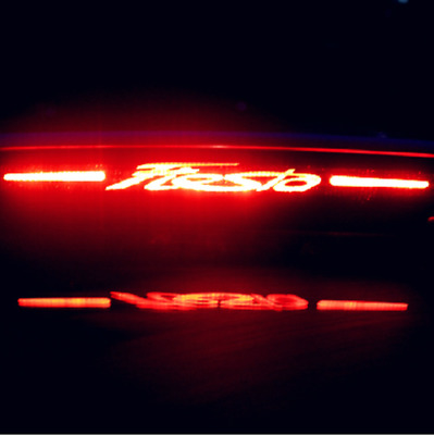 FORD FIESTA 2009 to 2016 HIGH LEVEL BRAKE LIGHT CARBON FIBRE DECAL UPGRADE COOL