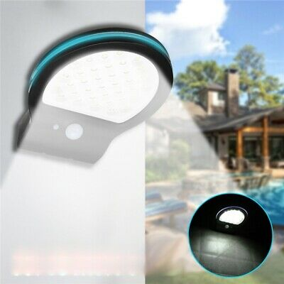 38 LED Solar Power Motion Sensor Garden Security Lamp Outdoor Waterproof Light