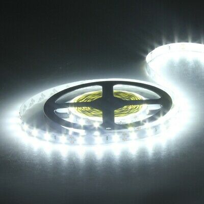 2PCS 5M Pure White 5630 SMD Non-waterproof 300 LED Strip Light for Decoration DC