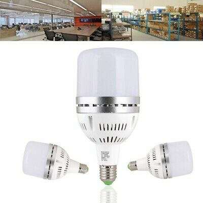 E27 50W SMD3030 3000LM Pure White High Power LED Spotlight Light Bulb for Worksh