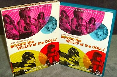 Beyond the Valley of the Dolls (DVD, 2006, 2-Disc Set, Special Edition) Mint•USA