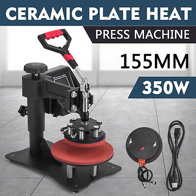 15x15INCH PlATE HEAT PRESS TRANSFER SUBLIMATION 350W  CERAMIC PLATE 155MM NEWEST