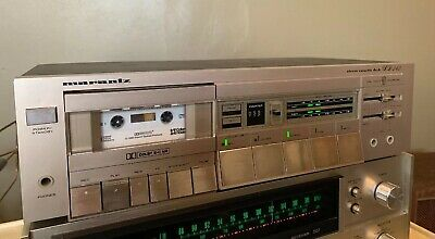 Marantz Stereo Cassette Deck Recorder SD242 Dolby B/C Metal Capable See Video