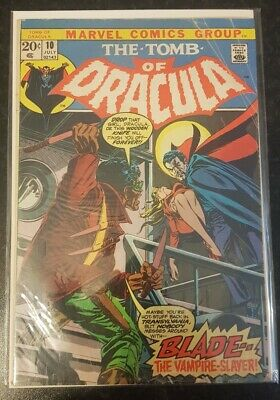 Hammer horror Tomb of dracula lot 52 Issues including first edition of blade #10