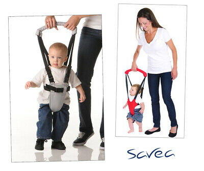 SAVEA Safety Harness Baby Kid Toddler Learning Assistant Moon Walk Walker Red