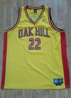 7f3719946f00 Carmelo Anthony  22 Oak Hill Academy Jordan Mens Jersey Size 3XL Yellow 2002