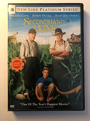 Secondhand Lions [DVD] Full Frame, Subtitled, Widescreen, Ac-3/Dolby Digit
