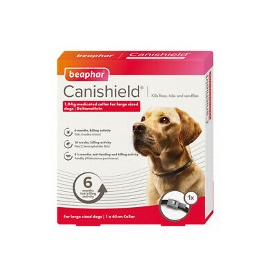Beaphar Canishield Collare Antiparassitario Cani Contro Leishmaniosi Large 65Cm