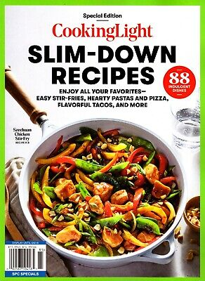 Cooking Light (Special Edtn) SLIM-DOWN RECIPES Magazine ~ Pizza ~ Stir-Fry ~ NEW