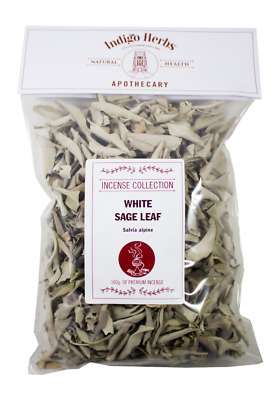Indigo Herbs White Sage Loose Leaf Incense 25g - 100g