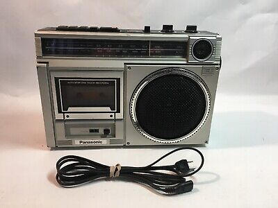 Vintage Panasonic RX-1540 Portable AM/FM/Cassette Recorder Player Boombox