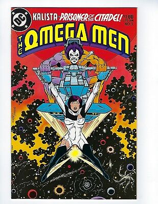 OMEGA MEN # 3 (1st app LOBO, June 1983), VF/NM
