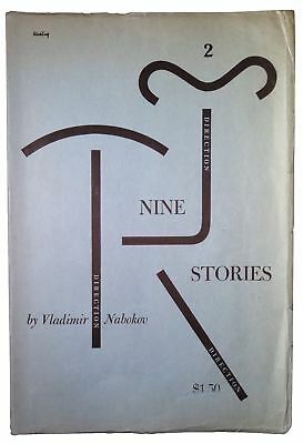 Vladimir Nabokov / New Direction Two Nine Stories First Edition 1947