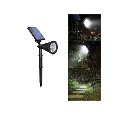 4W Solar 6 LED PIR Motion Sensor Flood Light Outdoor Landscape Lamp for Lawn Yar