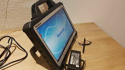 "13.3"" Panasonic Toughbook Cf-D1 8Gb 250G 500Gb Diagnostics Engineers' Xentry Tab"