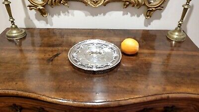 Rare Antique Sterling Silver William B. Durgin Co. Pierced Compote Tazza