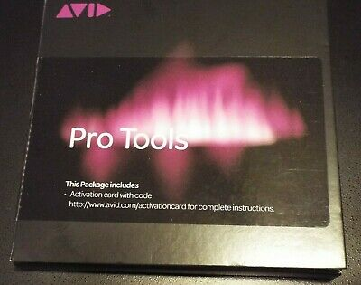 Avid Pro Tools 12 2018 Perpetual with 1 Year of  Updates & Support (Mac &  Win)