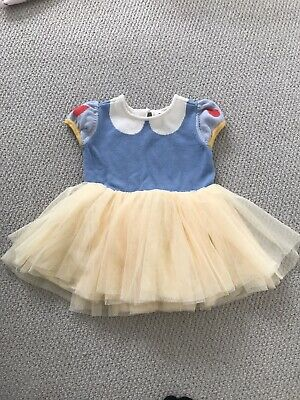 Baby Gap Girls Disney Snow White Dress Age 12-18 Months