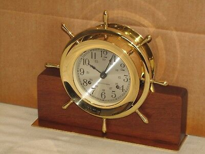Seth Thomas Vintage Ships Bell Clock~4 In.~1978~Chelsea Key~Mint