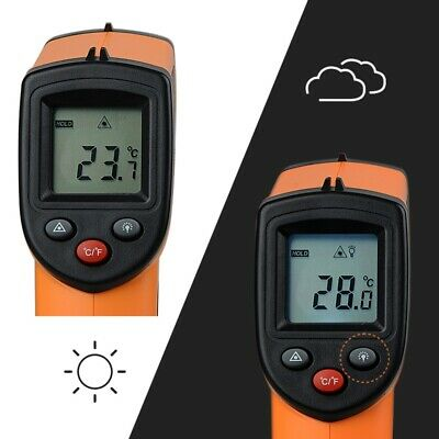 Thermometer Pyrometer Handheld Infrared Non-Contact IR Industrial 2018 Fashion