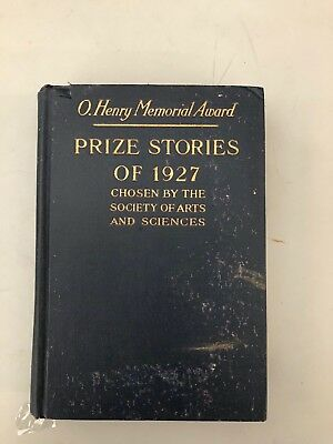 Hemingway The Killers First Edition O. Henry Memorial Award Prize Stories 1927