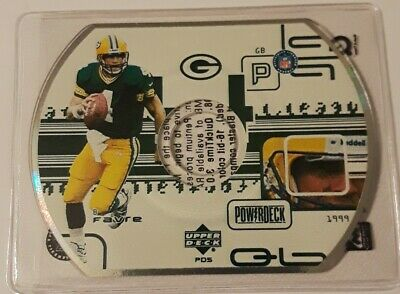 1996 Upper Deck power deck Brett Favre Green Bay Packers
