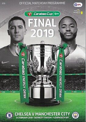 CHELSEA v MANCHESTER CITY CARABAO CUP FINAL (24TH FEBRUARY 2019)
