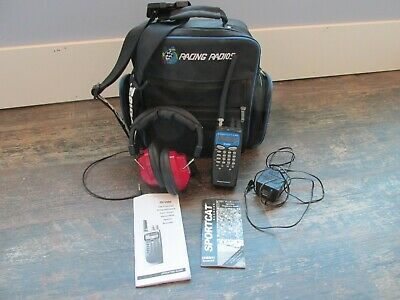 Uniden Sportcat 200 Racing Scanner Radio Headset RT-24 Storage Bag