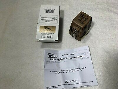 TACO 555-050RP REPLACEMENT Power Head for 570, 571, 572 ... on taco zone valve operation, taco zone valve 24v, taco zone valves wiring connection, taco zone valve 555 102, taco 3 wire zone valve,