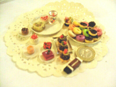 mini cakes reproduction set of 5 hand-made re-ment blythe dolls japan kawaii n17