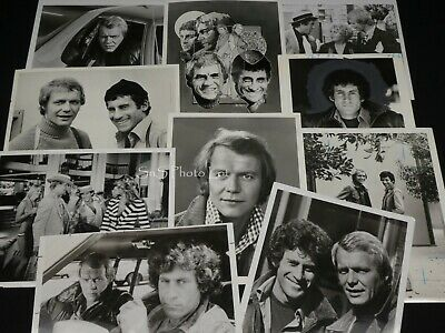 "11 x TV Press Kit Photos ~ 8x10 ""Starsky & Hutch"" David Soul Paul Michael Glaser"