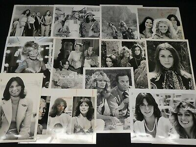 "12 x TV Press Kit Photos ~ 8x10 ""Charlie's Angels"" Kate Jackson Farrah Fawcett +"