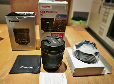 Canon EF-S 10-18 mm F/4.5-5.6 IS STM Objektiv Top !!
