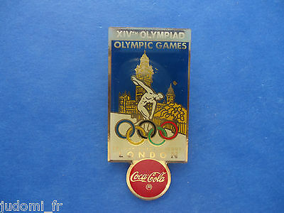 Pin's pin J.O JEUX OLYMPIQUES LONDON 1948 OLYMPIC GAMES COCA COLA (ref L18 )