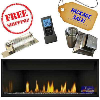 VENTED FIREPLACE BLOWER Kit BK 41333 - $89 99 | PicClick