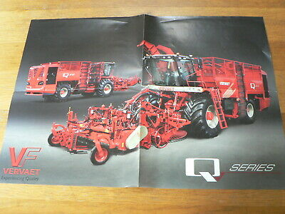 A587 Vervaet Q Series Experiencing Quality   Tractor Trekker  Poster Agri