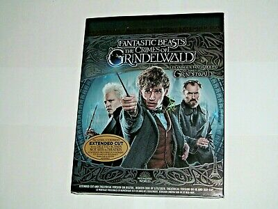 "FANTASTIC BEASTS: THE CRIMES OF GRINDELWALD(4K Ultra HD, Blu-ray,Incl Digit""NEW)"