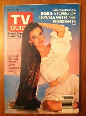 1984 Vintage Crystal Gayle (Country Music Awards) TV Guide - No Mailing Label