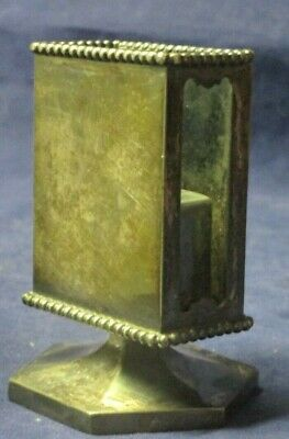 Wilcox Silver Plate Co Meriden CT Quadruple Plate Match Box Holder 2541