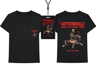 d45d25498857 AUTHENTIC TRAVIS SCOTT Astroworld Season Pass and Tee Shirt New ...