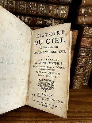 1740 HISTORY OF HEAVEN - Descartes, Newton, Moses, Alchemy and Cosmogony