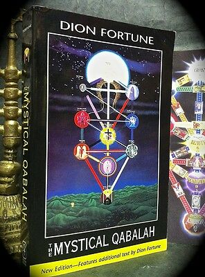 DION FORTUNE: THE MYSTICAL QABALAH ~ SC 2000 ~ NEW EDN w/ EXTRAS ~ MAGICK OCCULT