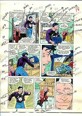 Mister Miracle 10  Page 14 Color Guide-Original Art-1 Of A Kind-Wein-Phillips