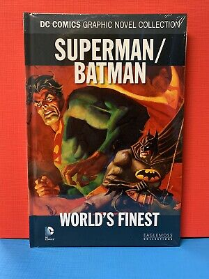 Superman / Batman: Worlds Finest - DC Comics Collection Hardcover *Brand New*