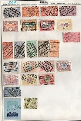 Belgium  Lot Of Old  Stamps   #32C