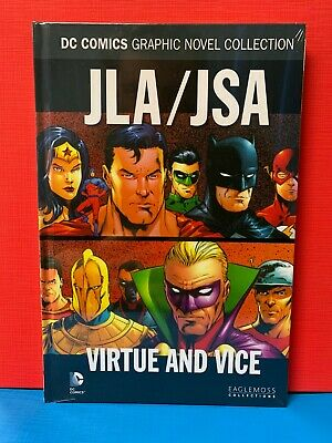JLA / JSA: Virtue & Vice - DC Comics Collection Hardcover *Brand New*