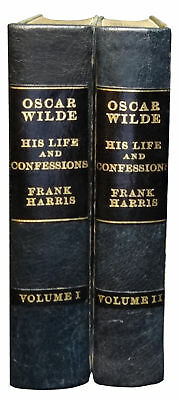 Frank Harris / Oscar Wilde His Life and Confessions 2 Volume Set 1st ed 1916