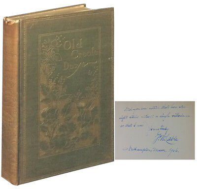 George W. Cable / Old Creole Days Signed 1905